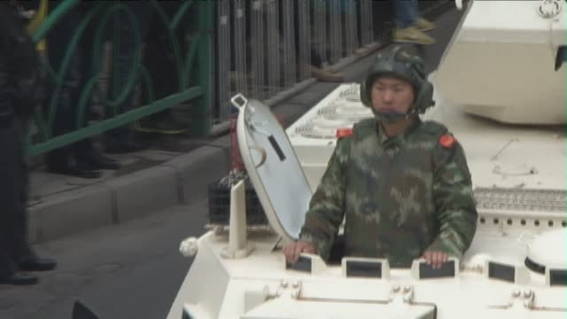more than 450 people were killed in chinas restive mainly muslim xinjiang region last year a rights group says with three times as many deaths among... - xinjiang province stock videos & royalty-free footage