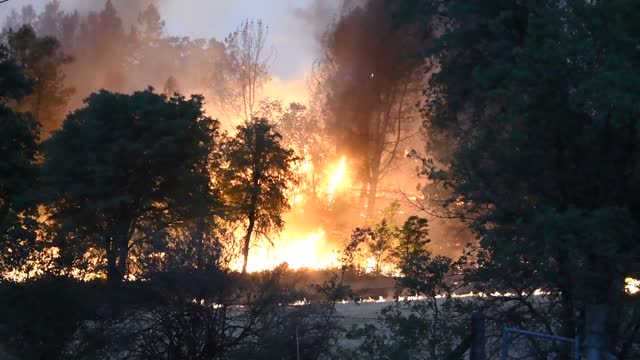 more than 60 homes burned to the ground today in the river fire located near colfax and garden valley california. the fire started about 3:00 p.m.... - western usa stock videos & royalty-free footage