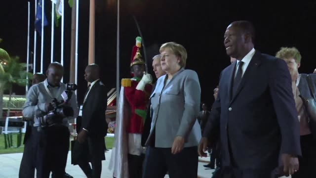 more than 80 african and european leaders gather in the ivory coast to promote jobs and stability for africa's exploding population with some calling... - population explosion stock-videos und b-roll-filmmaterial