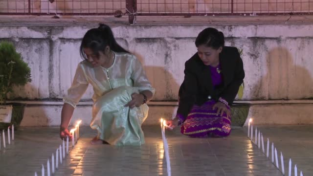 More than a century after the British expelled Myanmar's last king descendants hold an emotional ceremony in Mandalay's Golden Palace in a watershed...