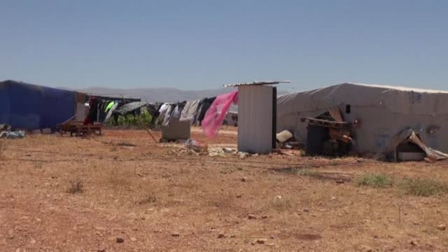 more than four million syrians have fled the civil war ravaging their country to become refugees in the surrounding region a million of them in the... - thursday stock videos & royalty-free footage