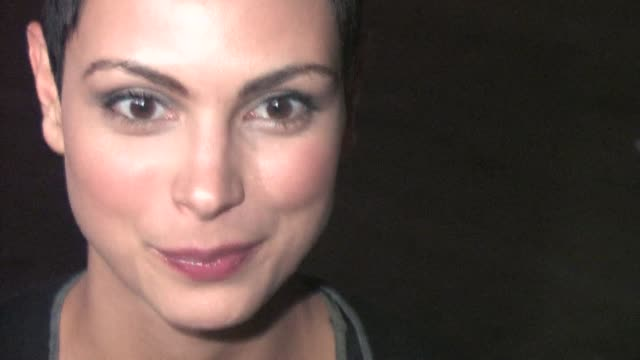 stockvideo's en b-roll-footage met morena baccarin arrives at the 2010 entertainment weekly and women in film pre emmy party at the celebrity sightings in los angeles at los angeles ca. - pre emmy party