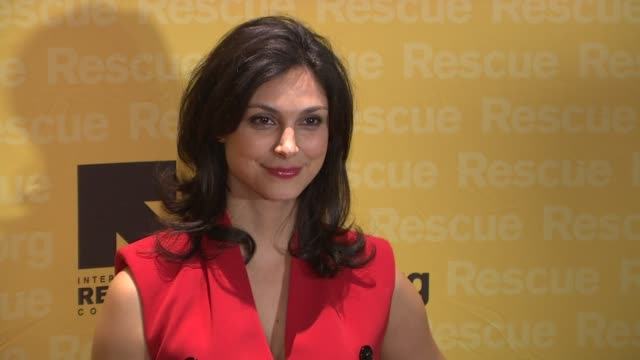 Morena Baccarin at 2015 International Rescue Committee Freedom Award Benefit at Waldorf Astoria Hotel on November 04 2015 in New York City