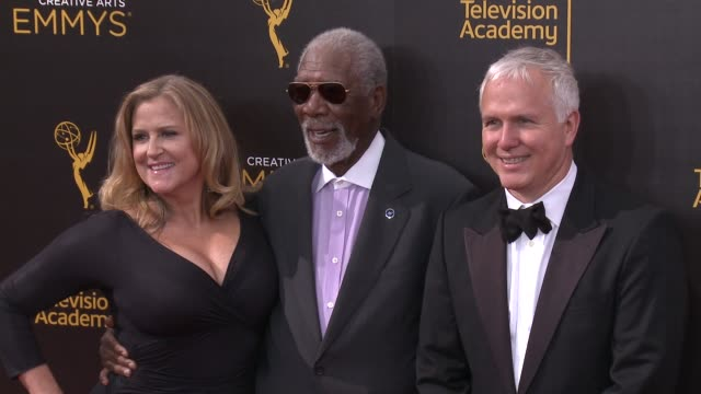 Morgan Freeman at 2016 Creative Arts Emmy Awards Day 2 in Los Angeles CA