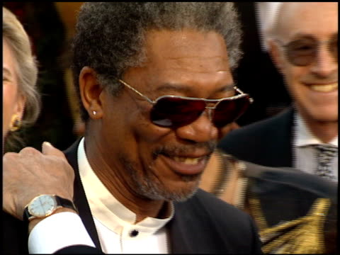 Morgan Freeman at the 1995 Academy Awards Arrivals at the Shrine Auditorium in Los Angeles California on March 27 1995
