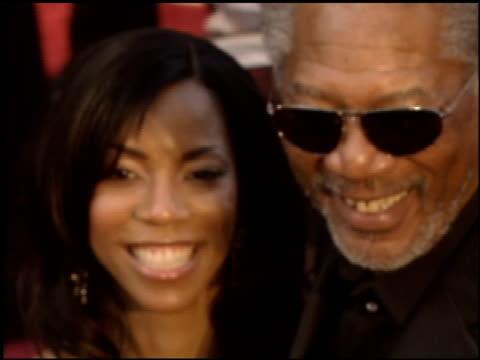 Morgan Freeman at the 2005 Academy Awards at the Kodak Theatre in Hollywood California on February 27 2005