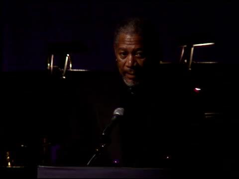 Morgan Freeman at the American Cinema Awards at the Biltmore Hotel in Los Angeles California on November 2 1996