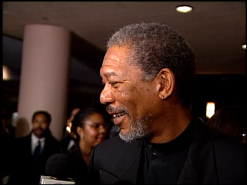 Morgan Freeman at the American Cinema Awards at the Bonaventure Hotel in Los Angeles California on November 2 1996