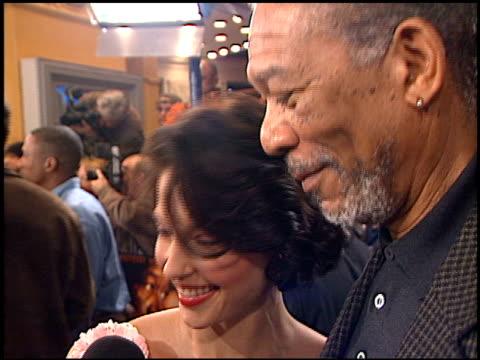 Morgan Freeman at the 'High Crimes' Premiere on April 3 2002