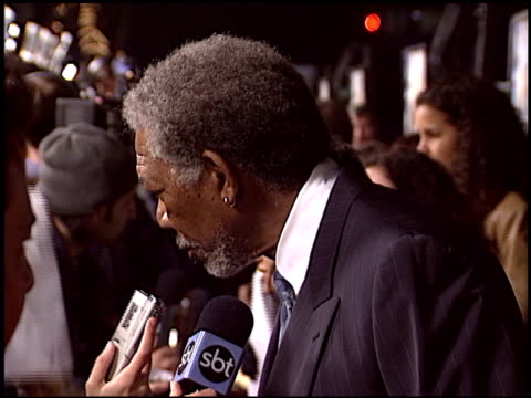 Morgan Freeman at the Premiere of 'The Big Bounce' on January 29 2004