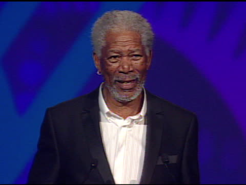 morgan freeman on accepting his career achievement award - morgan freeman stock videos & royalty-free footage