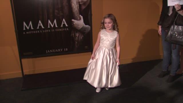morgan mcgarry at mama premiere at landmark sunshine cinema on january 08, 2013 in new york, new york - landmark sunshine theater stock videos & royalty-free footage