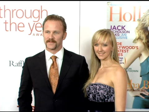 vidéos et rushes de morgan spurlock and alexandra jamieson at the hollywood life magazine's breakthrough of the year awards at the henry fonda theatre in hollywood,... - henry fonda theatre