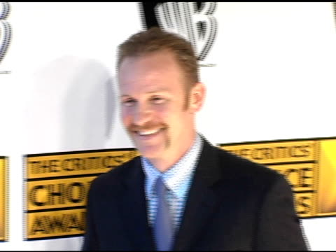 morgan spurlock at the 2005 critics' choice awards at the wiltern theater in los angeles california on january 10 2005 - wiltern theatre stock videos and b-roll footage