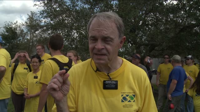 mormon missionaries help clean up after hurricane issac on september 04, 2012 in new orleans, louisiana - missionary stock videos & royalty-free footage