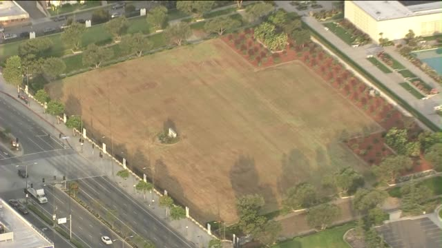 mormon temple in west la lets its landmark lawn turn brown the browning lawn is part of an effort by church officials to save water transforming one... - mormon temple stock videos and b-roll footage