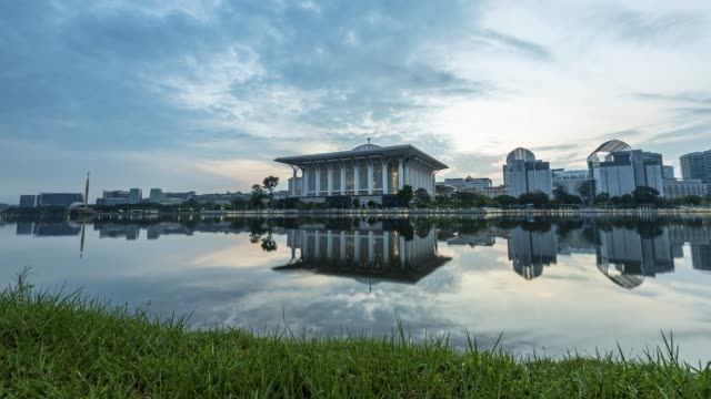 morning at putrajaya - putrajaya stock videos & royalty-free footage