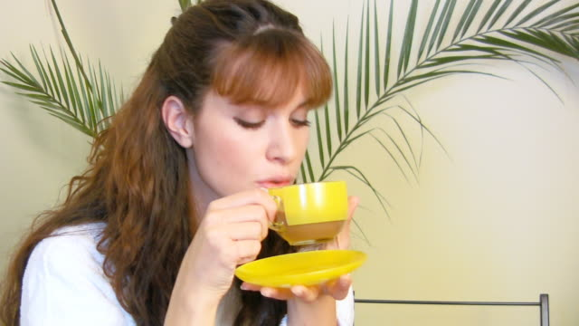hd: morning coffee - coffee drink stock videos & royalty-free footage