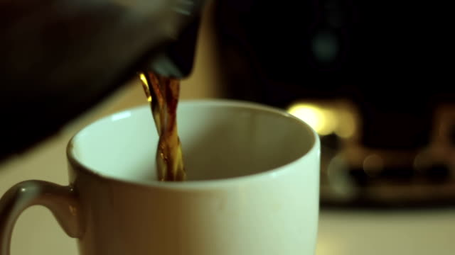 morning coffee - cup stock videos and b-roll footage