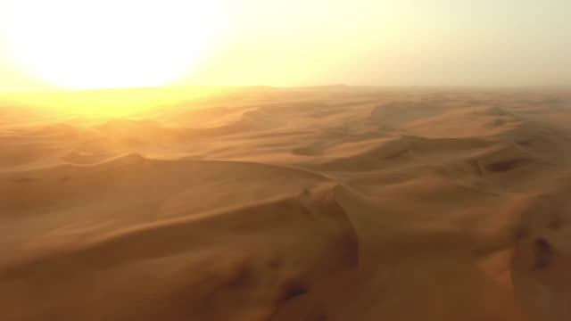 morning comes to the namibian desert - desert stock videos & royalty-free footage