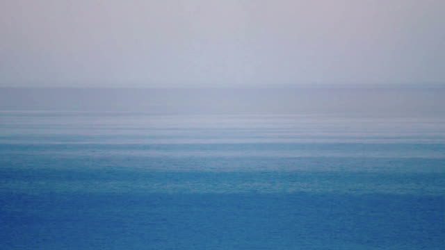 morning fog over the sea - horizon over water stock videos & royalty-free footage