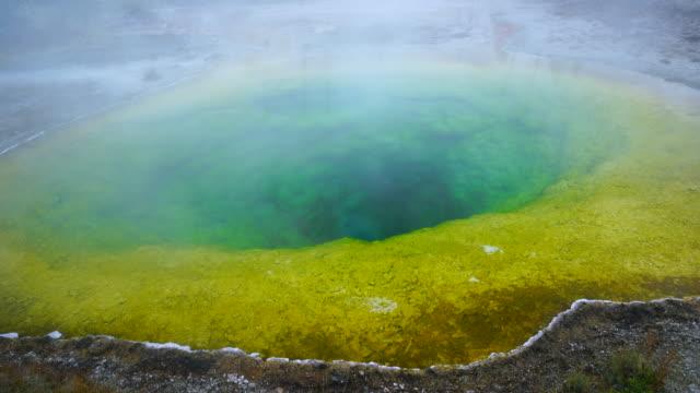 Morning Glory Pool, Yellowstone National Park, Unesco World Heritage, Wyoming, Usa, North America, America