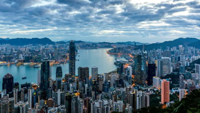 Morning in Hong Kong/4k Timelapse