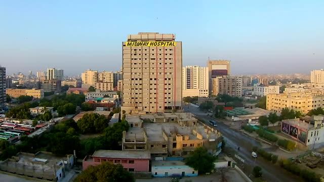 morning karachi time-lapse - karachi stock videos & royalty-free footage