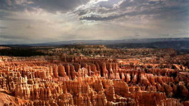 morning light at bryce canyon national park, utah - national park stock videos & royalty-free footage