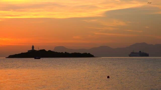 Morning light at the lighthouse of Alcanada, Alcudia, Majorca, Balearic Islands, Spain, Mediterranean, Europe