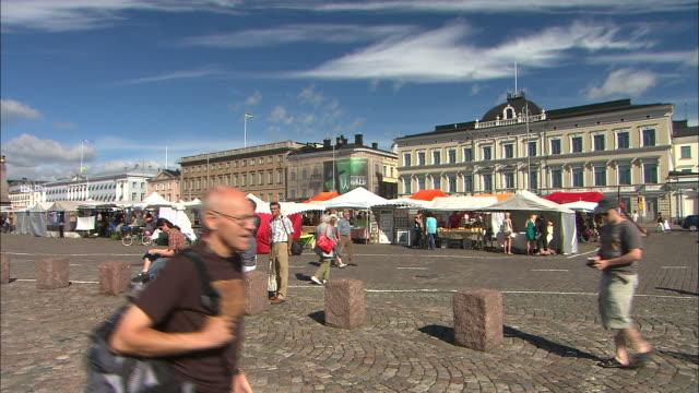 Morning Marketplace, Helsinki, Finland
