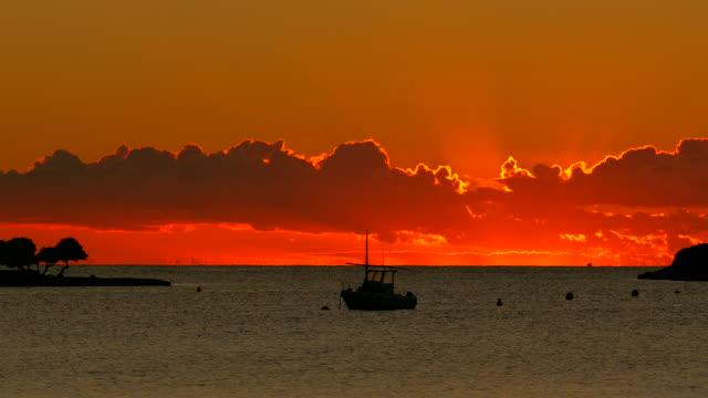 Morning mood at the bay of Alcanada, Alcudia, Majorca, Islas Balears, Spain