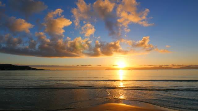 Morning mood at the beach, Playa de Muro, Alcudia, Majorca, Balears, Spain