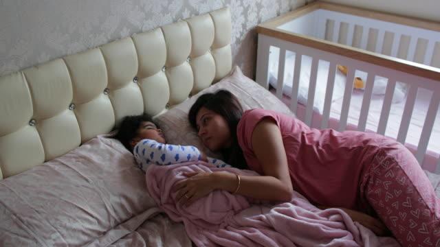 morning nap - babygro stock videos & royalty-free footage