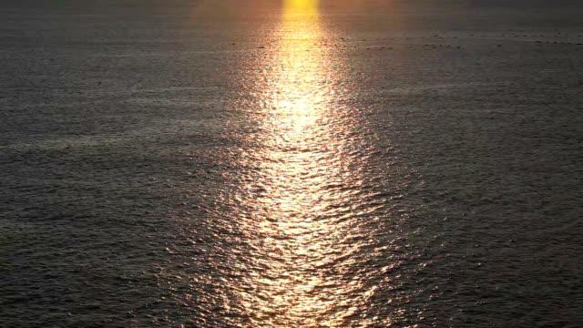 morning ocean - satoyama scenery stock videos & royalty-free footage