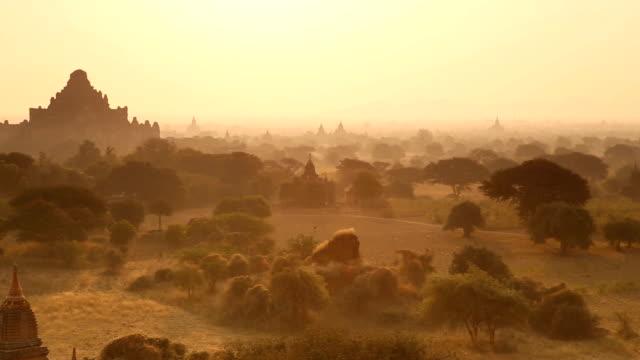 Morning Panorama in Bagan Myanmar