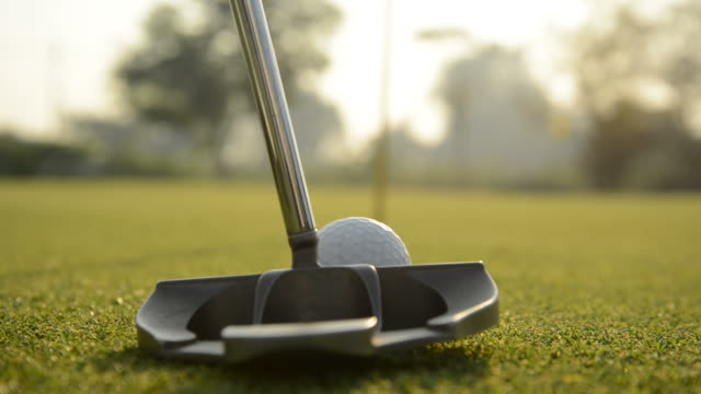 morning putt - putting stock videos & royalty-free footage