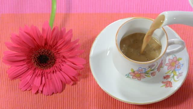 vidéos et rushes de morning tea - thé noir