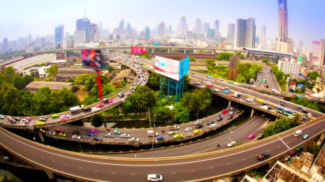 morning urban life - bangkok stock videos & royalty-free footage
