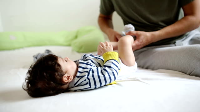 morning with daddy - genderblend stock videos & royalty-free footage
