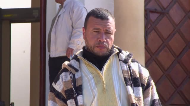 stockvideo's en b-roll-footage met moroccan prosecutors have decided to prosecute a former guantanamo bay inmate for 'endangering state security' the lawyer of accused former detainee... - former