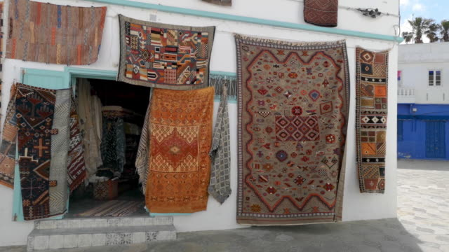 moroccan rugs - rug stock videos & royalty-free footage
