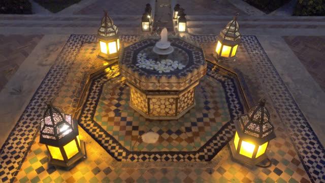 Marokko-Brunnen