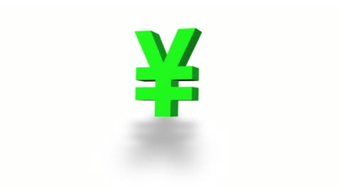 morphing currency symbols in green on white - morphing stock videos & royalty-free footage