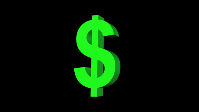 morphing currency symbols yen dollar pound euro and matte - dollar symbol stock videos & royalty-free footage