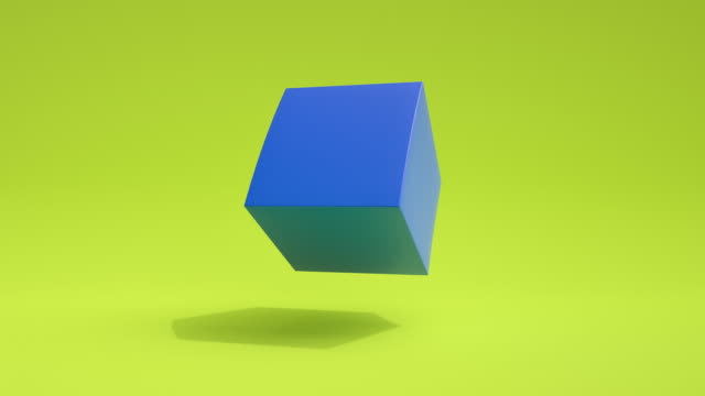 stockvideo's en b-roll-footage met morphing shapes loop (groen/blauw) - morphing