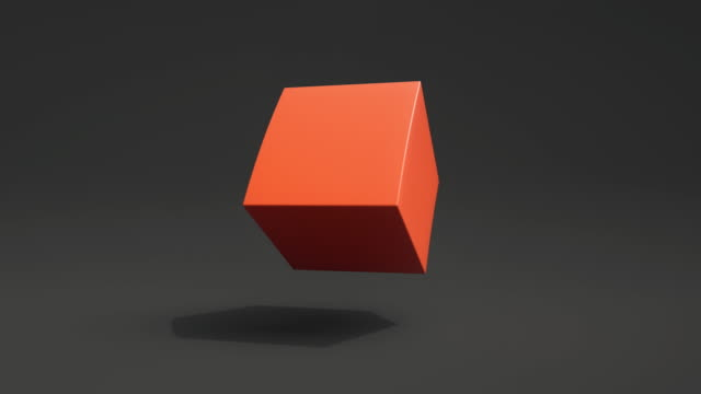 morphing shapes loop (coral) - orange colour stock videos & royalty-free footage