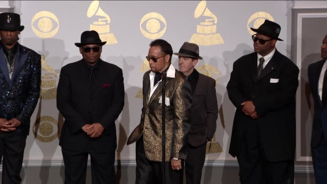 SPEECH Morris Day at the 59th Annual Grammy Awards Press Room at Staples Center on February 12 2017 in Los Angeles California