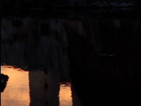 ms, tu, morro castle and lighthouse at sunset, havana, cuba - stile del xvi secolo video stock e b–roll
