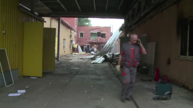 mortar bombardments have killed 11 civilians and wounded 22 in east ukraines main rebel bastion of donetsk over the past 24 hours local authorities... - thursday stock videos & royalty-free footage